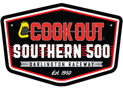 Cook Out Southern 500 logo